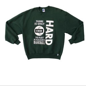 Other - Vintage Eagles Baseball Sweater